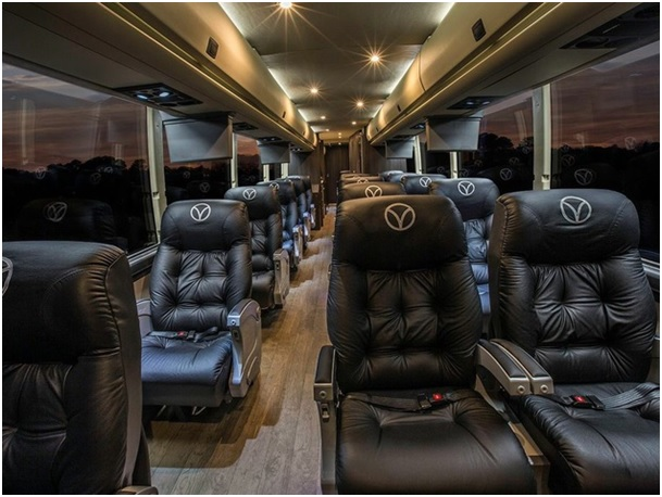 tour bus interior
